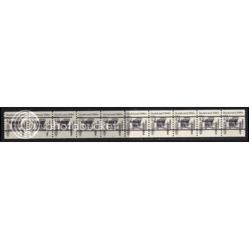 2124a Very Fine MNH Dry Gum PNC 3/10 Gap 2L AAL1017