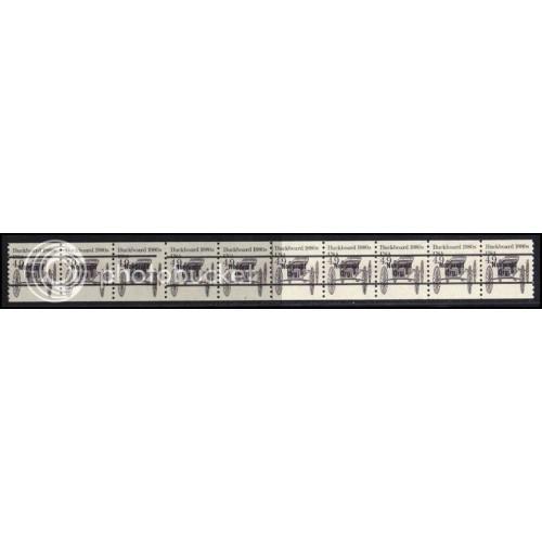 2124a Very Fine MNH Dry Gum PNC 3/10 Gap 2L AAL1018
