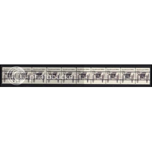 2124a Very Fine MNH Dry Gum PNC 3/10 Gap 2L AAL1030
