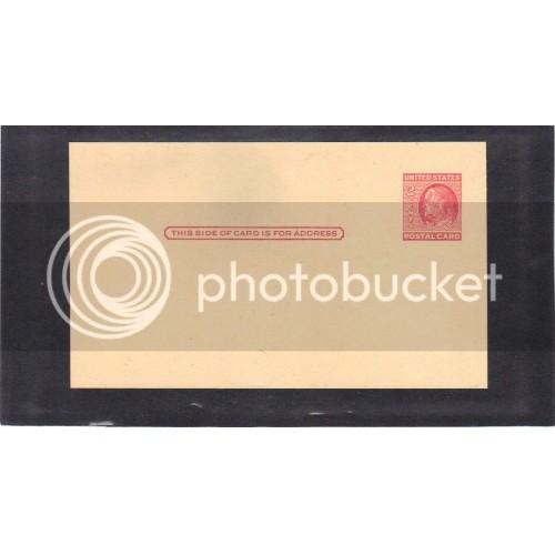 Postcard UX38 2c Franklin Mint CV0426