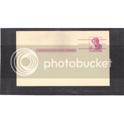 Postcard UX48 4c Lincoln Mint PreCnx CV0438