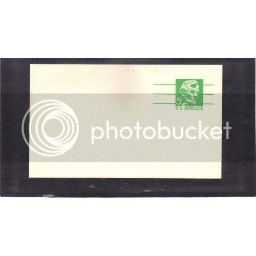 Postcard UX55 5c Lincoln Mint PreCnx CV0471
