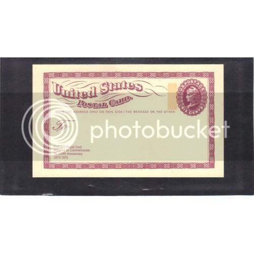 Postcard UX65 6c Liberty Mint CV0499