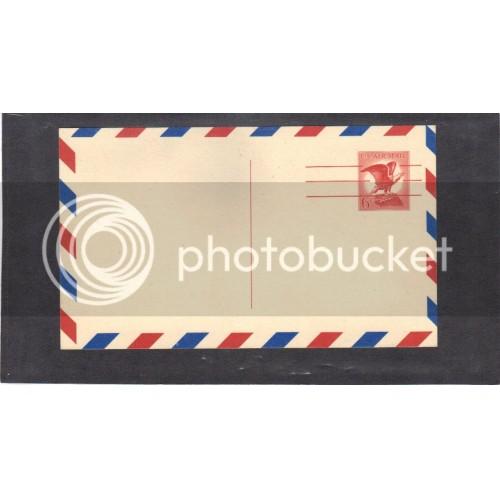 Postcard UXC4 6c Eagle Mint PreCnx CV0645