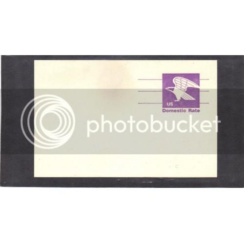 Postcard UX88 12c Eagle Mint PreCnx CV0650