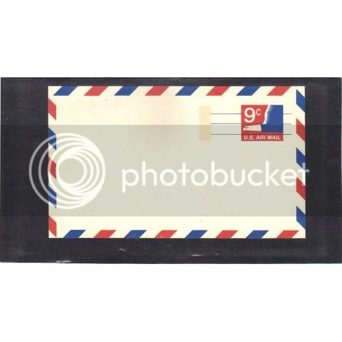 Postcard UXC10 9c Eagle Mint PreCnx CV0673