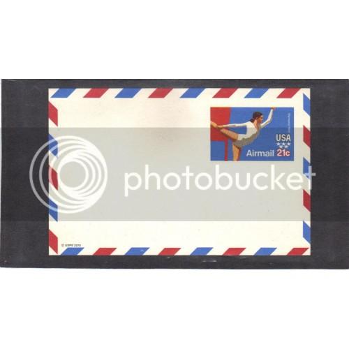 Postcard UXC18 21c Olympics Mint CV0683