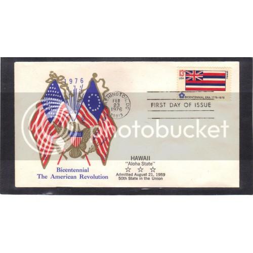 Boerger Cachets 1682 13c Hawaii FDC (Cachet-U/A) CV0737