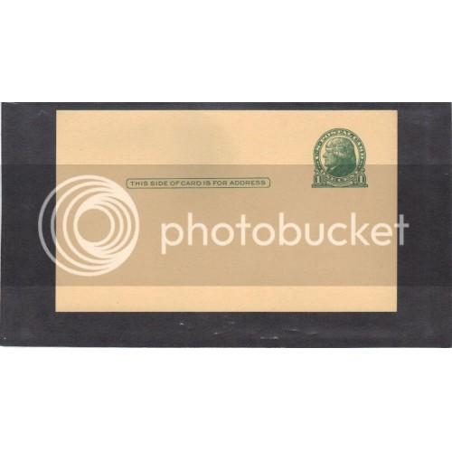 Postcard UX27 1c Jefferson Mint CV0747