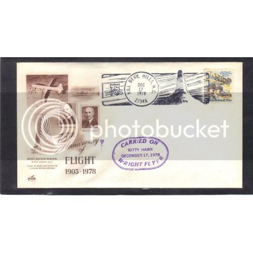 Event 75th Anniversary C92 31c Wright Brothers (Cachet-U/A) CV0945