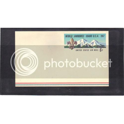 Postcard UXC7 6c World Jamboree Mint CV3598