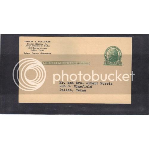 Postcard UX27 1c Jefferson Mint CV3861