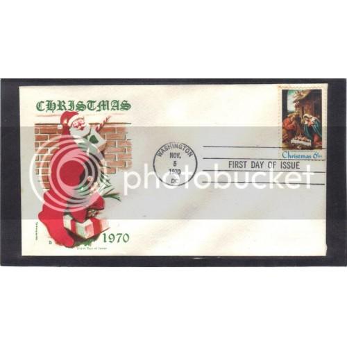 Jackson 1414 6c Christmas FDC (Cachet-U/A) CV41236