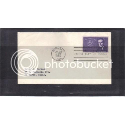 FDC 1200 4c McMahon (No Cachet-Typed Address) CV41525