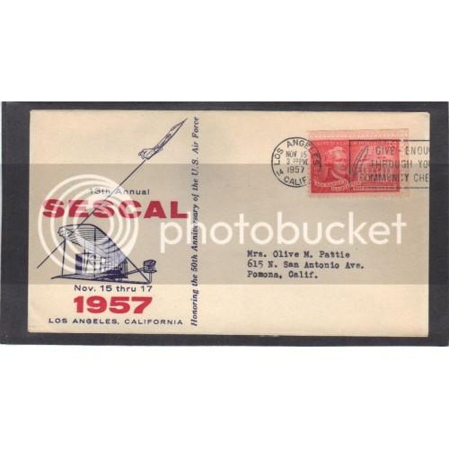 Event 13th SESCAL 1086 3c 1086 Hamilton (Unkn Cachet-Typed Address) CV41554