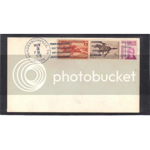 Cover Multiple Stamps/3 (No Cachet-U/A) CV41585