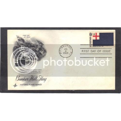 Art Craft 1351 6c Flag FDC (Cachet-Erased Address) CV42288