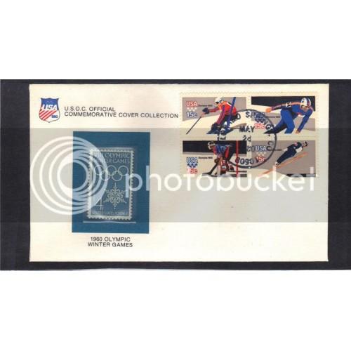 Event Olympic Games 1146 4c 1795-1798 15c Olympics (Cachet-U/A) CV42399