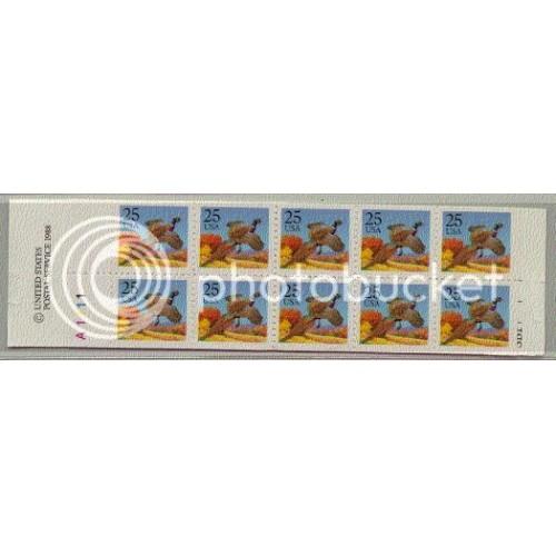 2283a Bk158 Very Fine MNH 2 Panes/10 P# A1111 L0299