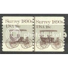 1907 Fine MNH Dry Gum CNP Left 5 V0754