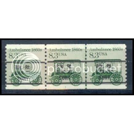 2128a Very Fine MNH Dry Gum PNC 1/3 Gap 1L W1488