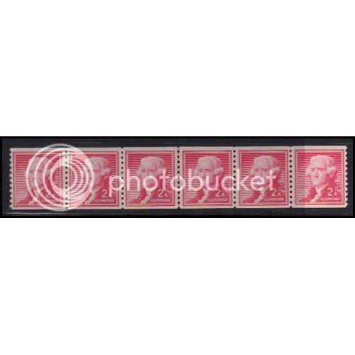 1055 Very Fine MNH CL Strip of 6 WD1822