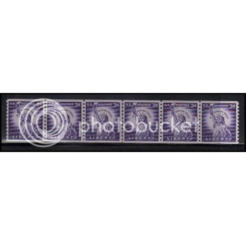 1057 Fine MNH CL Strip of 6 WD1847