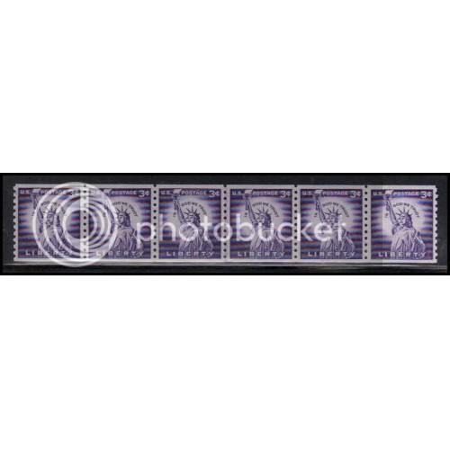 1057 Very Fine MNH CL Strip of 6 WD1866