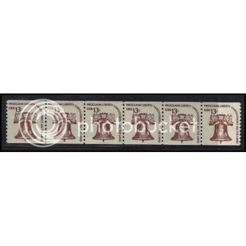 1618 Very Fine MNH CL Strip of 6 WD2061