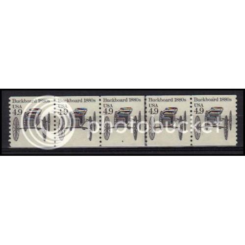 2124 Very Fine MNH Dry Gum PNC 4/5 X0260