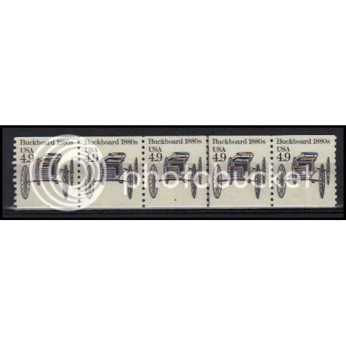 2124 Very Fine MNH Dry Gum PNC 4/5 X0261