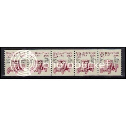 2125a Very Fine MNH Dry Gum PNC 1/5 X0535