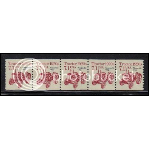 2127a Fine MNH Dry Gum PNC 1/5 X0750