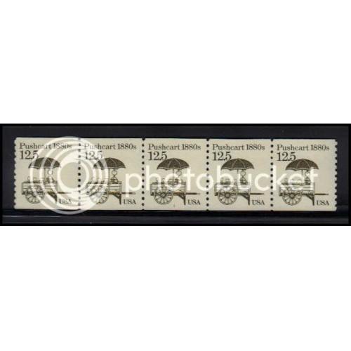 2133 Very Fine MNH Dry Gum PNC 1/5 X2160