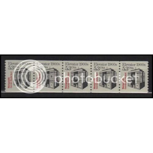 2254 Very Fine MNH Dry Gum PNC 1/5 X2781