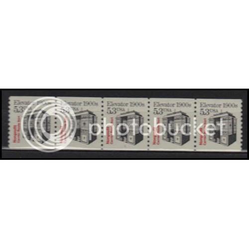2254 Very Fine MNH Dry Gum PNC 1/5 X2789