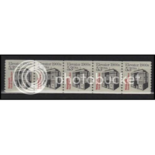 2254 Fine MNH Dry Gum PNC 1/5 X2795
