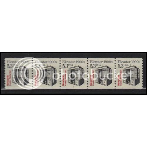 2254 Very Fine MNH Dry Gum PNC 1/5 X2800