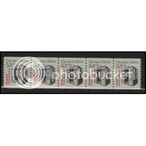 2254 Very Fine MNH Dry Gum PNC 1/5 X2801