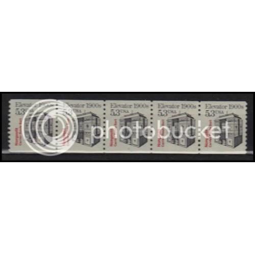 2254 Fine MNH Dry Gum PNC 1/5 X2826