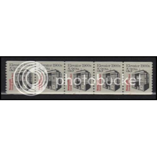 2254 Very Fine MNH Dry Gum PNC 1/5 X2852