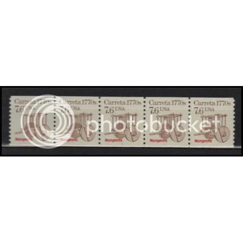 2255 Very Fine MNH Dry Gum PNC 1/5 X2893