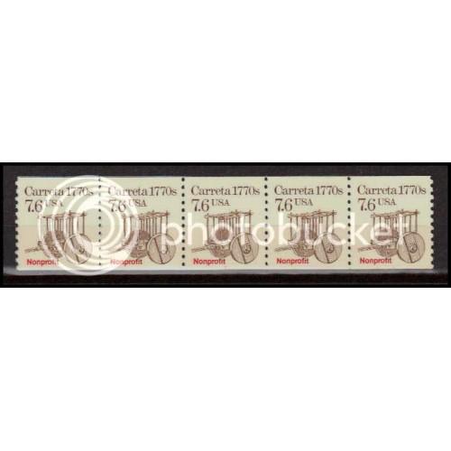 2255 Very Fine MNH Dry Gum PNC 1/5 X2927