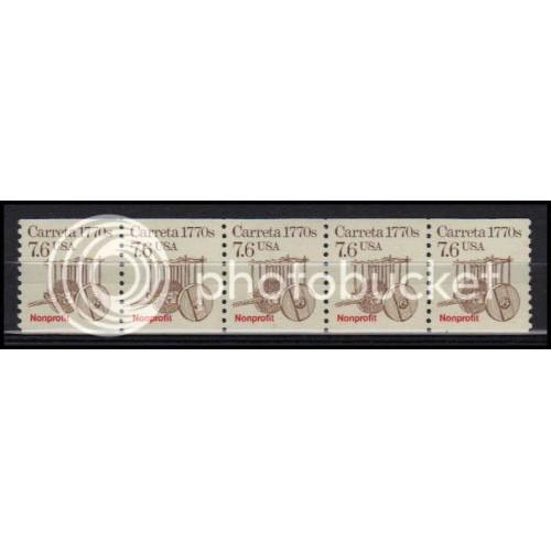 2255 Very Fine MNH Dry Gum PNC 1/5 X2978