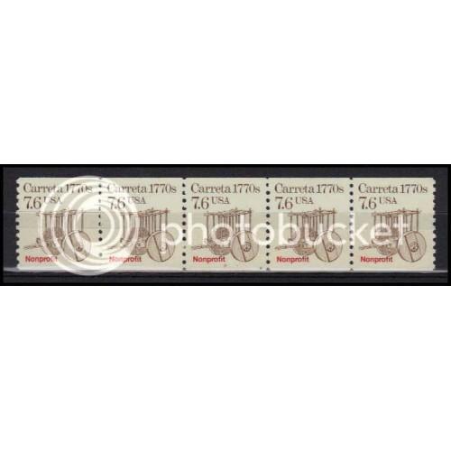 2255 Very Fine MNH Dry Gum PNC 2/5 X2981