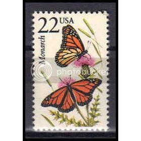 2287 22c Monarch Butterfly Fine MNH Z3603