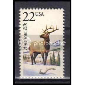 2328 22c American Elk Fine MNH Z3644
