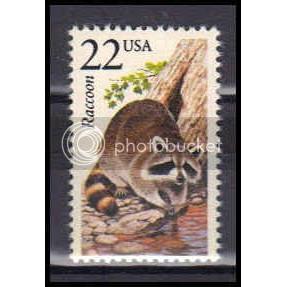 2331 22c Raccoon Fine MNH Z3647
