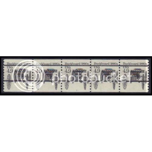 2124a Fine MNH Dry Gum PNC 1/5 Z5171