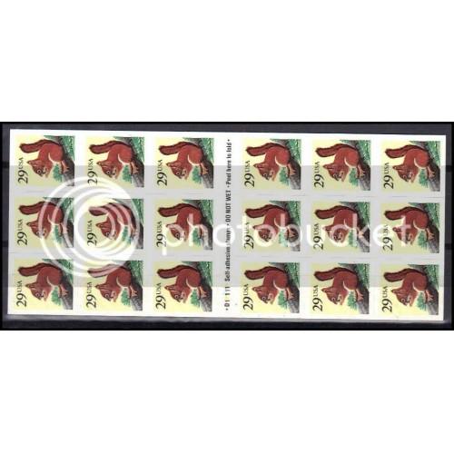 2489a Very Fine MNH Pane/18 P# D11111 ZL5529